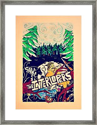 Interlopers Framed Print by Dominic Pangelinan