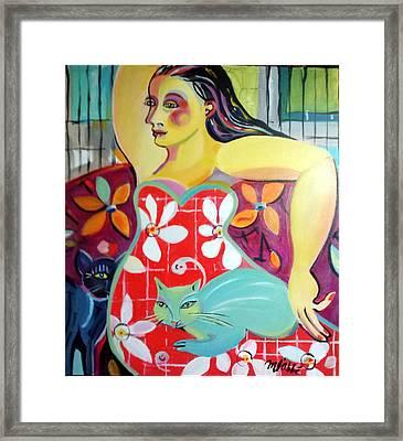 Interlude Framed Print by Marlene LAbbe