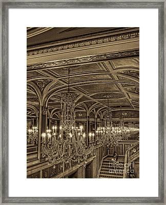 Intermission Framed Print