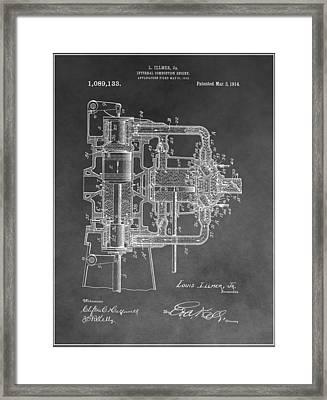 Internal Combustion Engine Framed Print