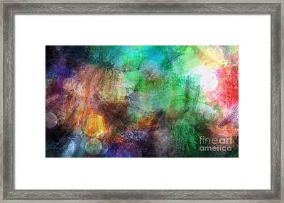 Internal Dialogue Framed Print by Angelica Smith Bill
