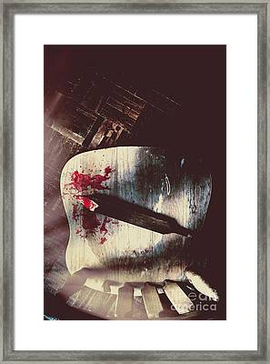 Internal Interrogation Framed Print