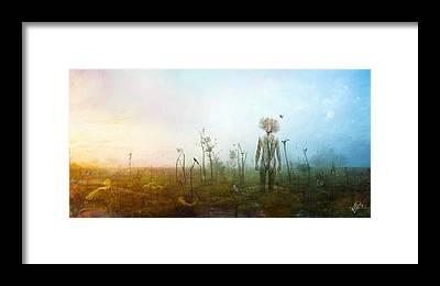 Surreal Digital Art Framed Prints