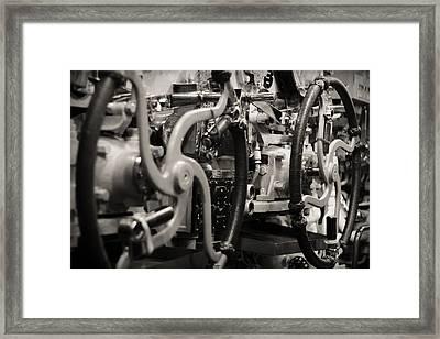 Internal Mechanics Uss Bowfin Framed Print by Douglas Barnard