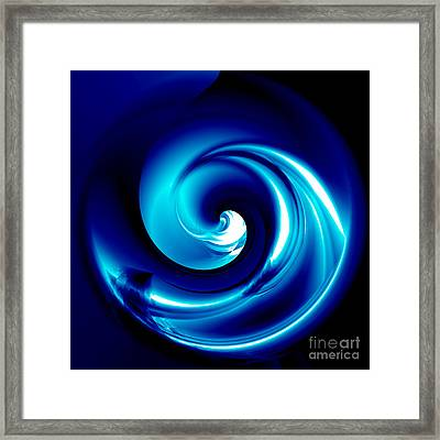 Internal Wave Framed Print