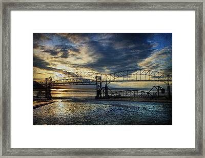 International Blues Framed Print
