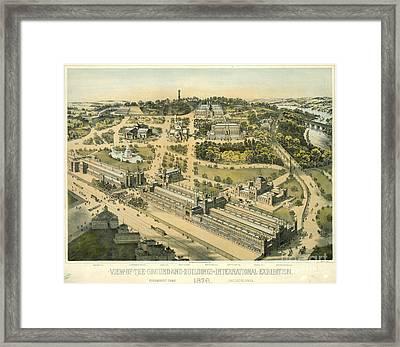 International Exhibition Philadelphia 1876 Framed Print