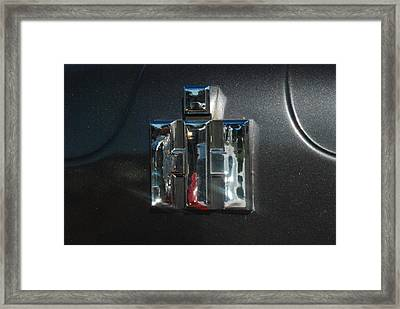 International Harvester Emblem Framed Print by T C Brown