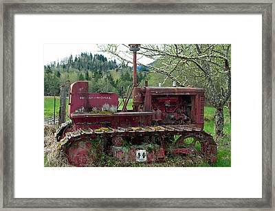International Harvester Framed Print