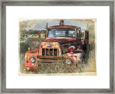 International Harvester Framed Print by Tracy Munson