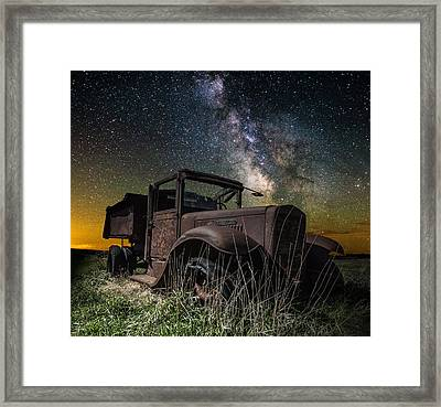 International Milky Way Framed Print by Aaron J Groen