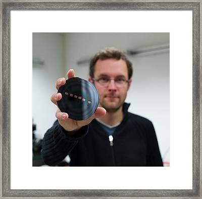 Internet Transmission Speed Framed Print by Ibm Research