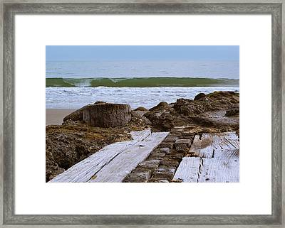 Intersecting Force Framed Print