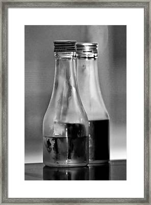 Intersection Framed Print by Guillermo Hakim