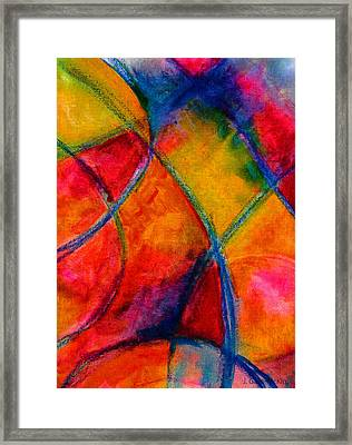 Intersections 01 Framed Print