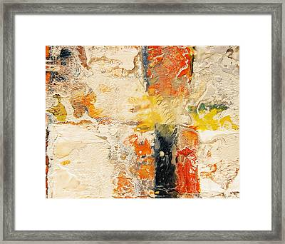 Intersections Id# E-1313 Framed Print