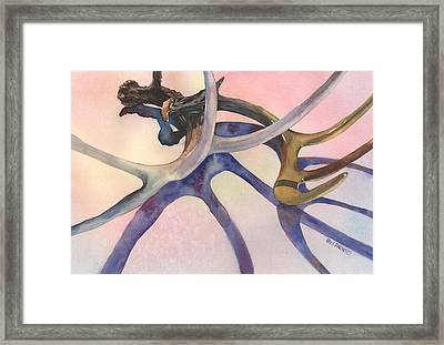 Intersections Framed Print by Kris Parins