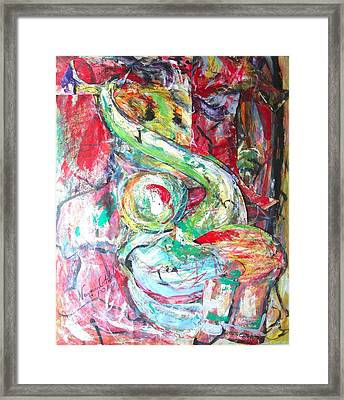 Intertwined Framed Print by Esther Newman-Cohen