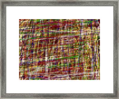 Intertwined Framed Print by J Burns