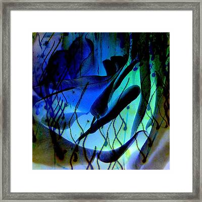 Intervention Framed Print by Shirley Sirois