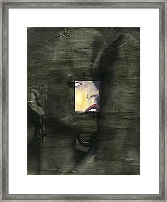 Intervention Vi Framed Print by Jennifer Walker