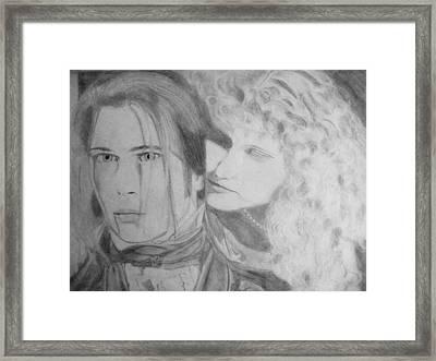 Interview1 Framed Print by Agata Suchocka-Wachowska