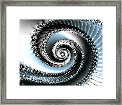 Intervolve Framed Print by Kevin Trow