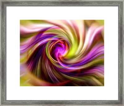 Interweaving Framed Print