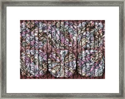 Interwine Framed Print by Mo T