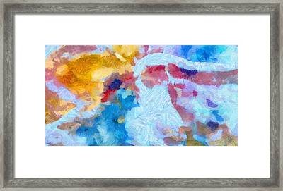 Intimate Framed Print by Dan Sproul