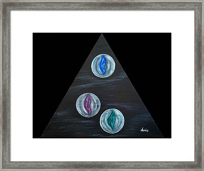 Intimate Kisses Framed Print by Marianna Mills