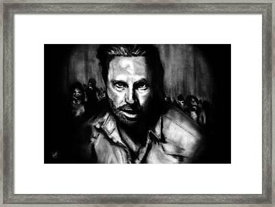 Into Darkness Framed Print