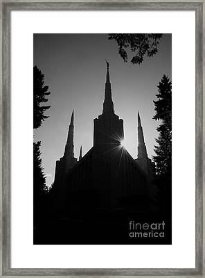 Into Eternity Framed Print by Nick  Boren