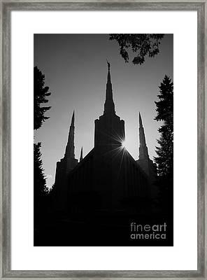 Into Eternity Framed Print