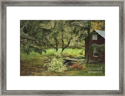 Into Fairy Land Framed Print by Deborah Benoit