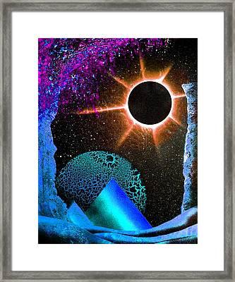 Into Oblivion Framed Print by Drew Goehring