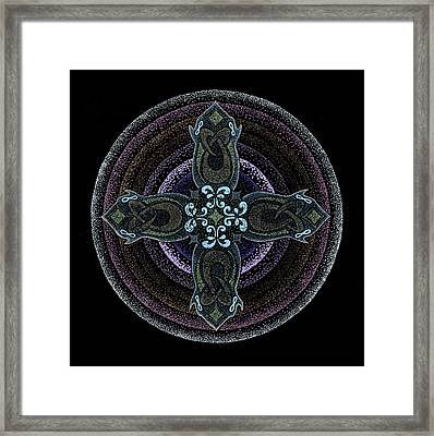 Into One's Highest Framed Print by Keiko Katsuta