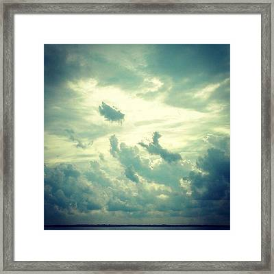 Into The Abyss Framed Print by Thomasina Durkay