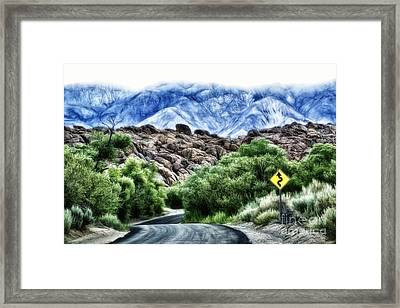 Framed Print featuring the photograph Into The Alabamas by Brad Allen Fine Art
