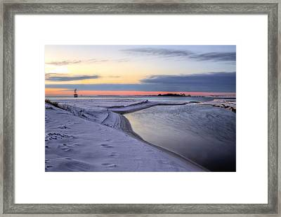 Into The Bay Framed Print by JC Findley