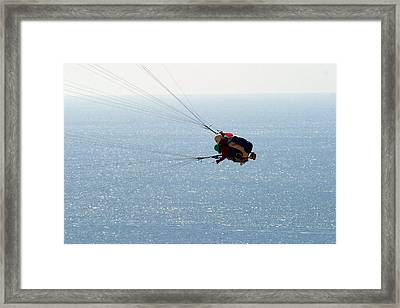 Framed Print featuring the photograph Into The Blue by Don Olea