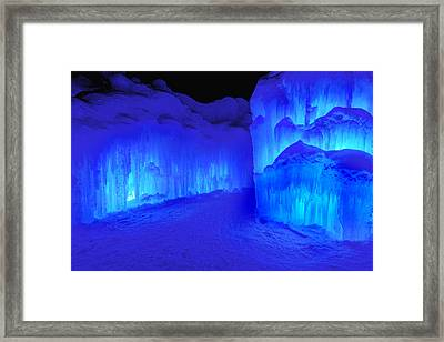 Into The Blue Framed Print by Greg Fortier