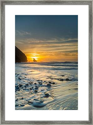 Into The Blue I Framed Print by Marco Oliveira