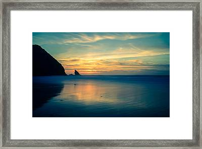 Into The Blue IIi Framed Print