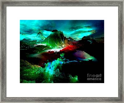 Into The Blue Framed Print by Marvin Blaine