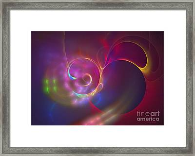 Into The Blue Framed Print by Sipo Liimatainen