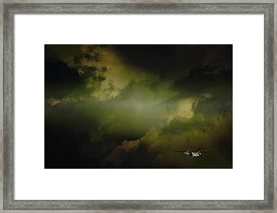 Into The Clouds Framed Print by Paul Job