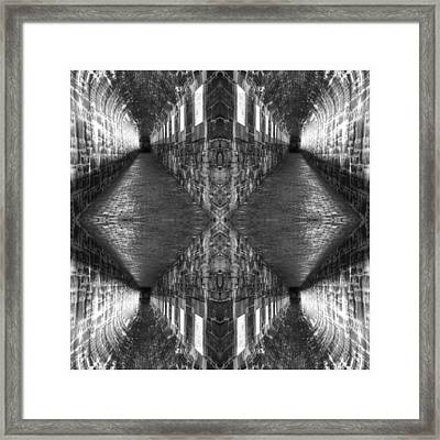 Into The Darkness Framed Print by Don Powers