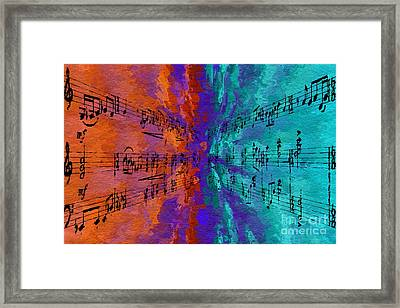 Framed Print featuring the digital art Into The Deep by Lon Chaffin