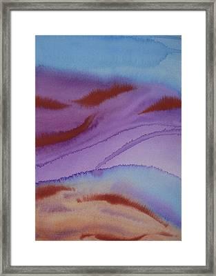 Into The Desert Framed Print